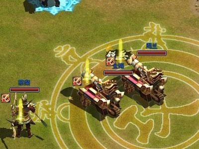 《烈火三国》精美游戏截图