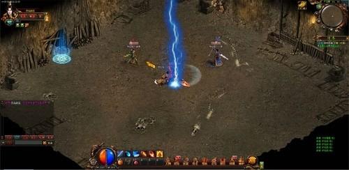 最新传奇类网页游戏《天神传奇》体验最热血的