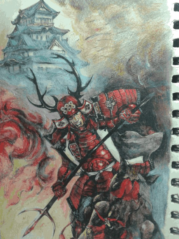 【转载】日本战国人物手绘系列--转自贴吧_信喵之野望